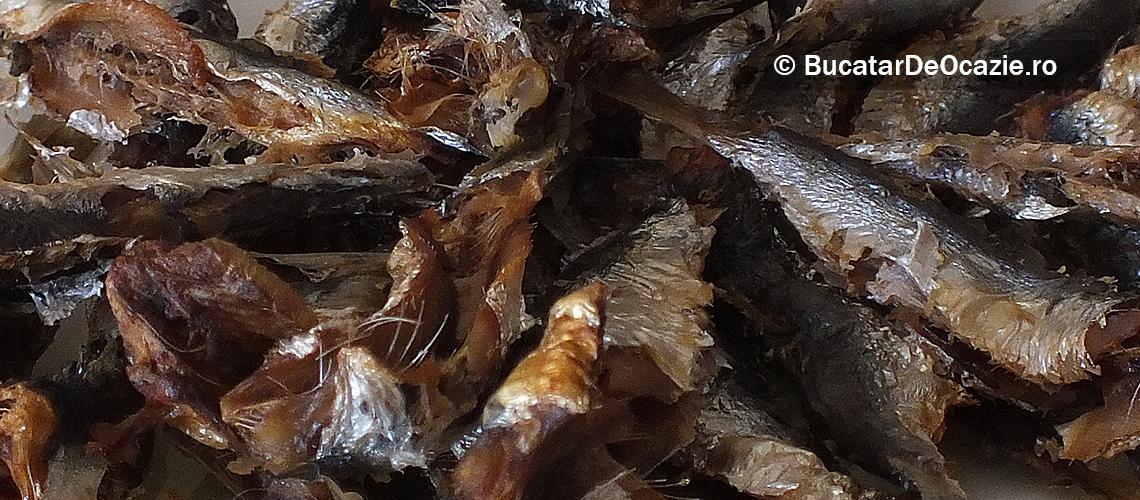 Sardine uscate la cuptor
