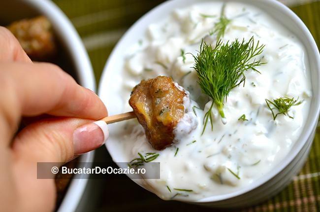 carne in Sos Tzatziki