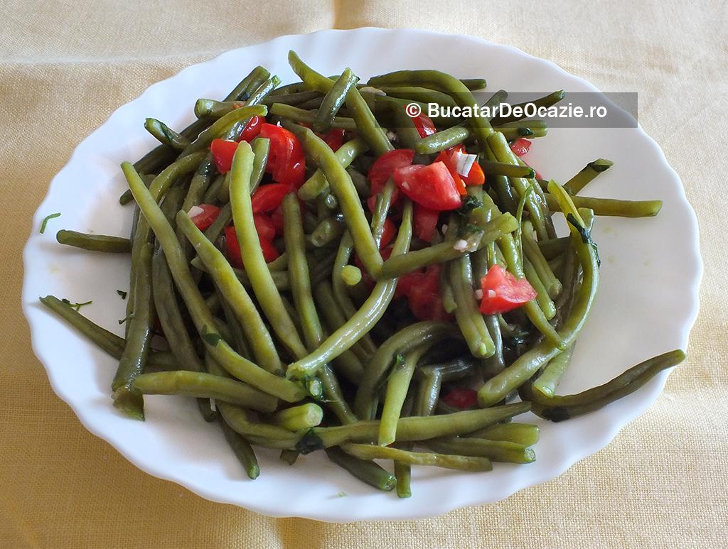 Salata de fasole verde - reteta