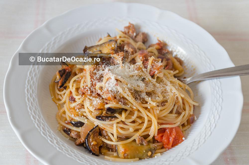 Spaghetti alla Norma - reteta